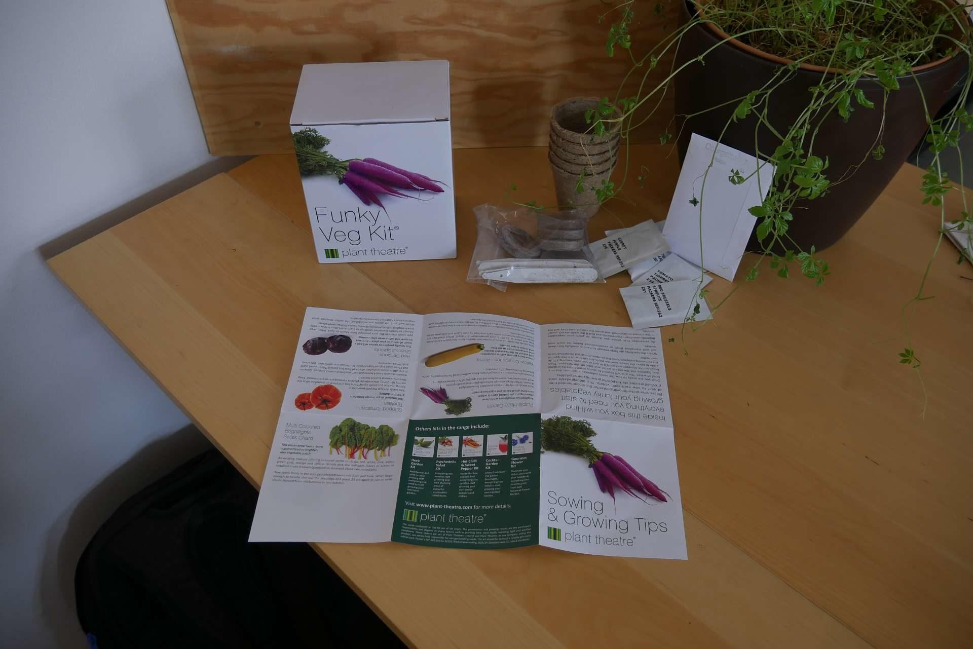 Beschreibung im Flippgen Gemüse-Kit
