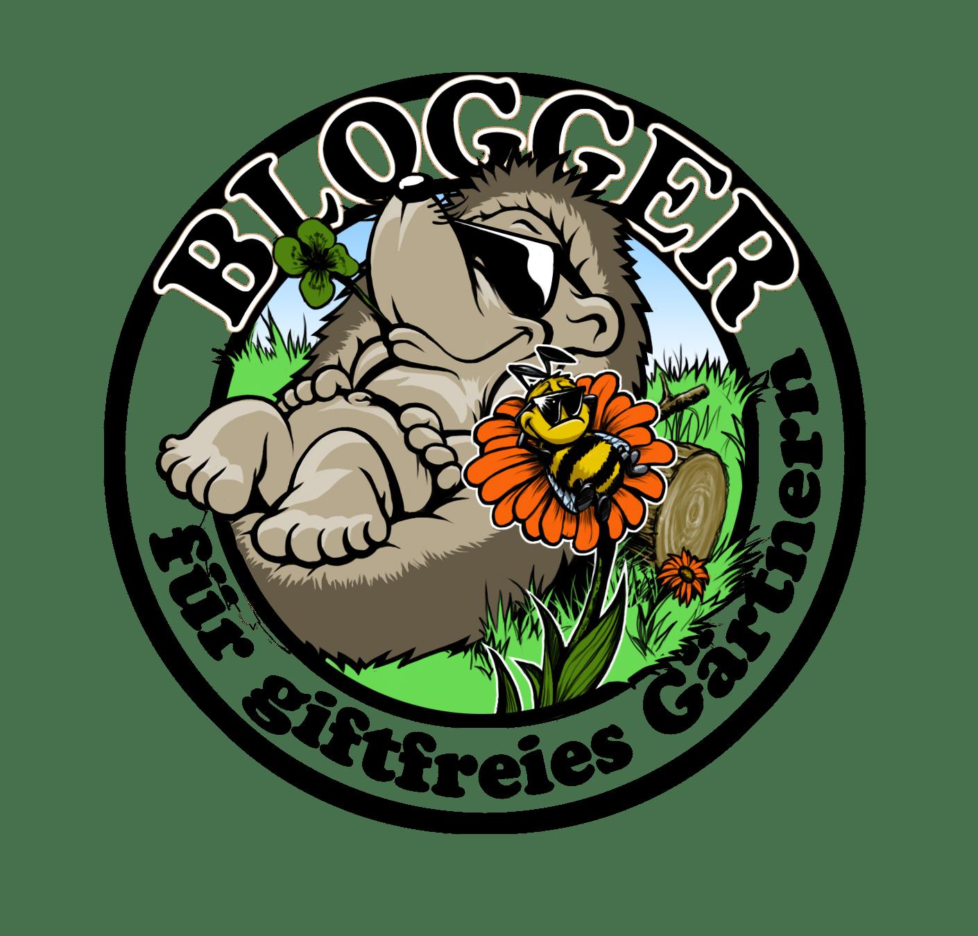 giftfreies Gärtnern Pestizide im Garten Blogparade 2018 Pflanzenschutzmittel im Garten Web Logo