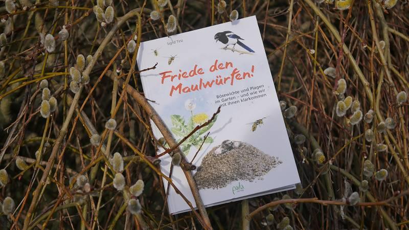 Buch friede den Maulwürfen Sigrid Tinz Schädlinge im Garten